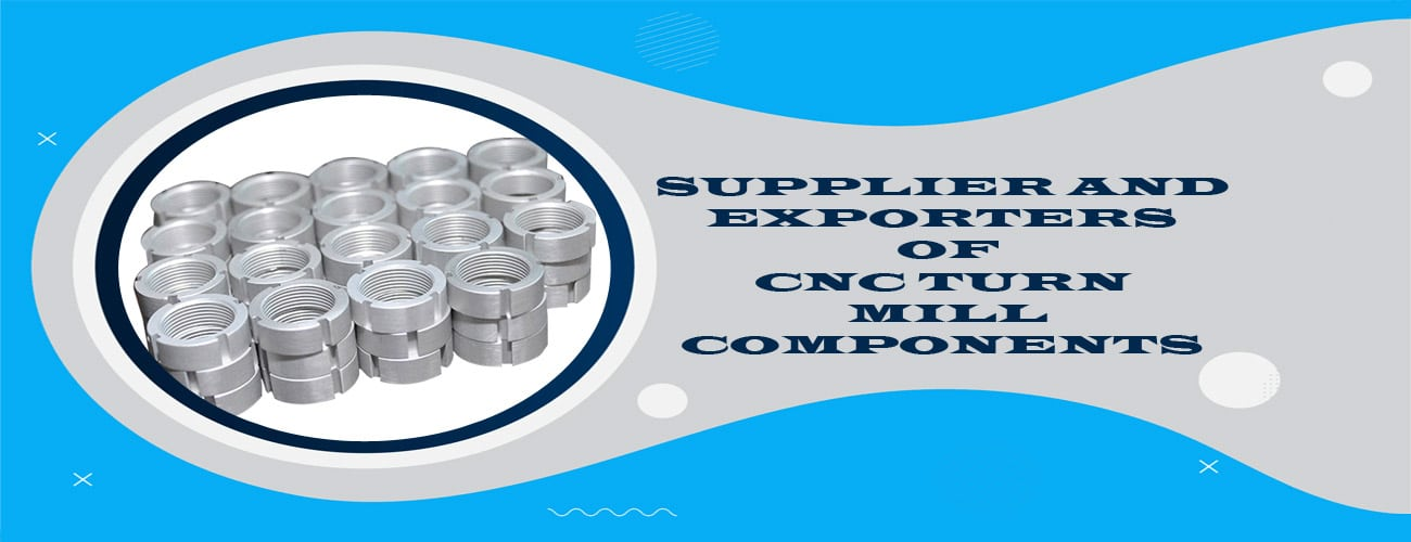 CNC Turned Parts Exporter in India